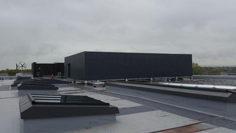 rooftop plantroom