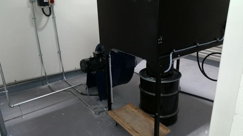welding bay extract unit